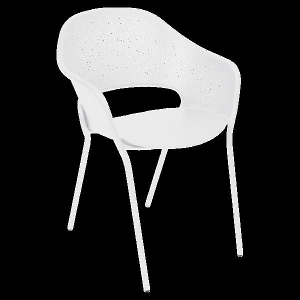 chaise metal, chaise design, chaise blanche, chaise de jardin, chaise terrasse