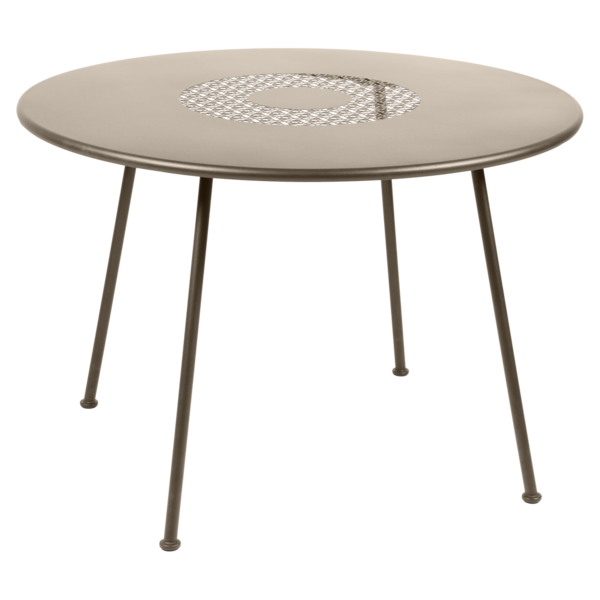 Table Ø 110 cm lorette muscade