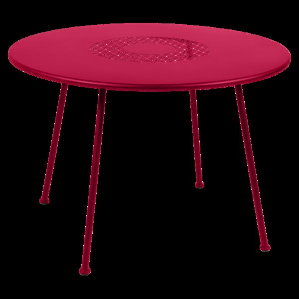 Table Ø 110 cm lorette rose praline