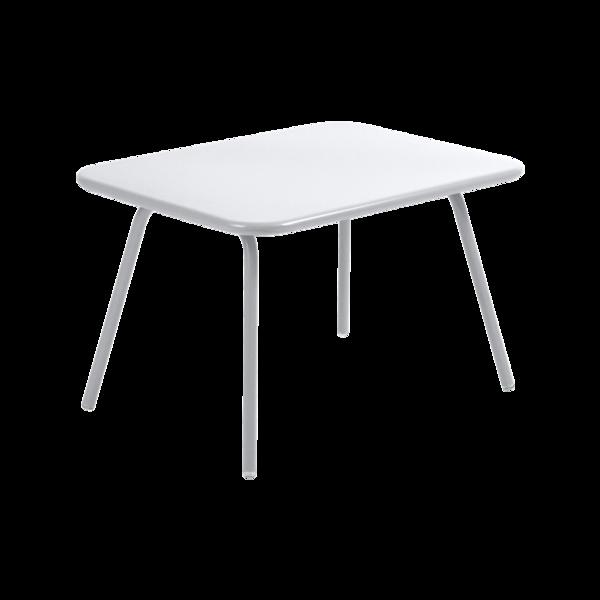table de jardin pour enfant, table metal pour enfant, table enfant metal, table enfant blanche