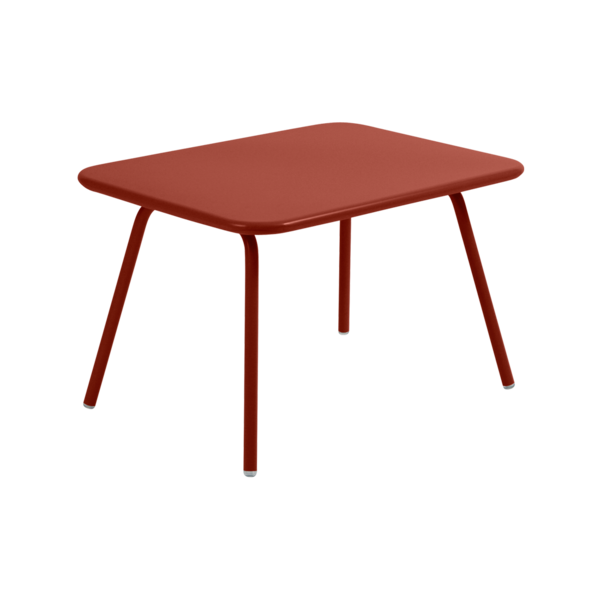 Table kid luxembourg ocre rouge