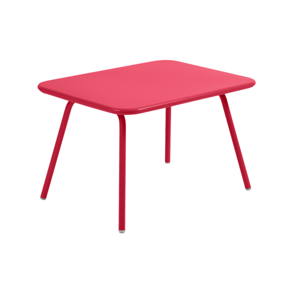 table de jardin pour enfant, table metal pour enfant, table enfant metal, table enfant rose