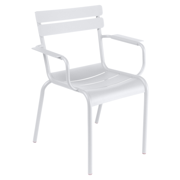 chaise metal, chaise fermob, mobilier terrasse, mobilier restaurant, chaise restaurant, chaise blanche, chaise restaurant