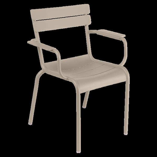fauteuil de terrasse beige
