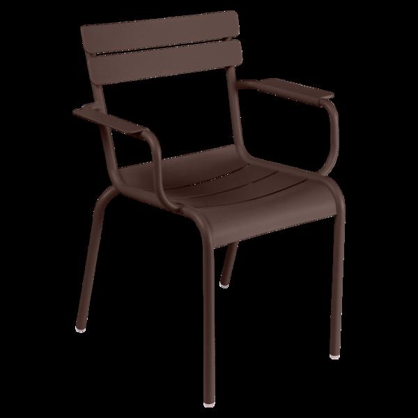 fauteuil de terrasse marron