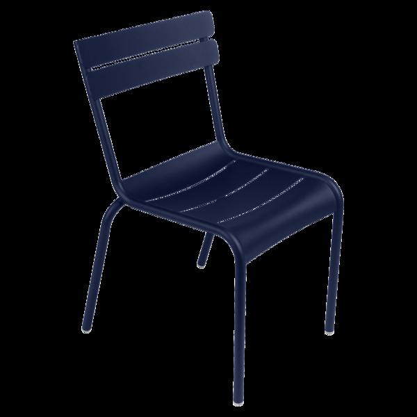 chaise de jardin, chaise metal, chaise fermob, chaise terrasse, chaise bleu