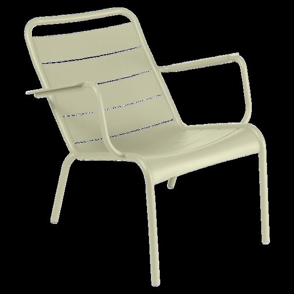 Fauteuil bas Luxembourg, fauteuil de jardin pour salon de jardin