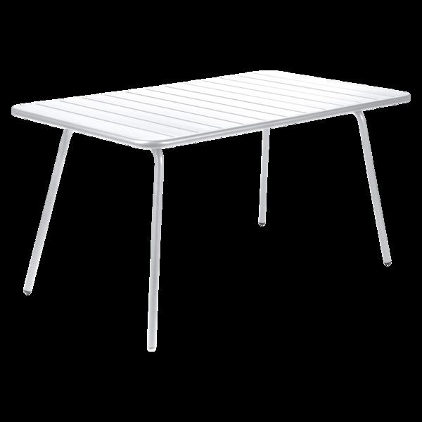 table de jardin, table metal, table fermob, table blanche