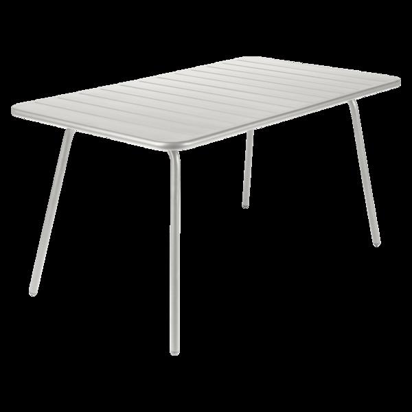 Table 143x80 cm Luxembourg, table de jardin, table jardin 6 ...