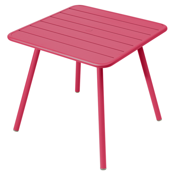 table de jardin, table metal, table 4 places, table rose, table fermob