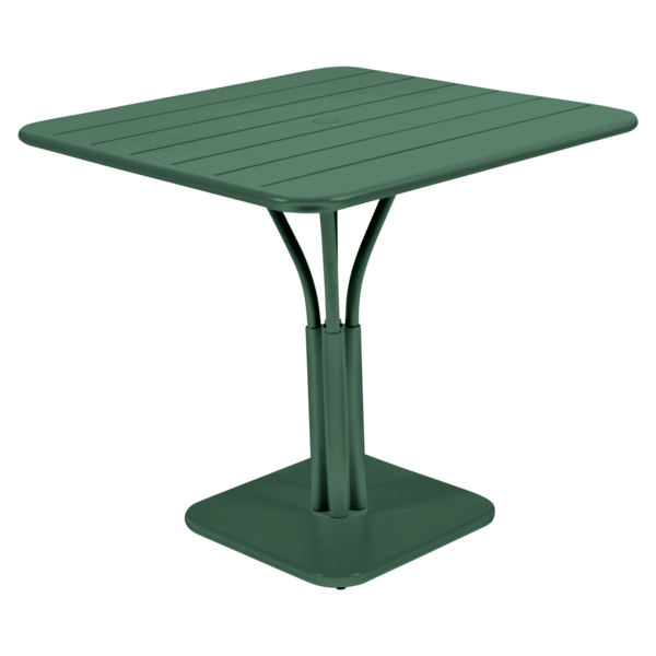 Table 80x80 cm Luxembourg, table de jardin metal