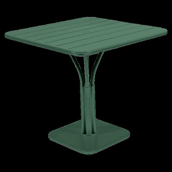 Table 80x80 Cm Luxembourg Table De Jardin Metal