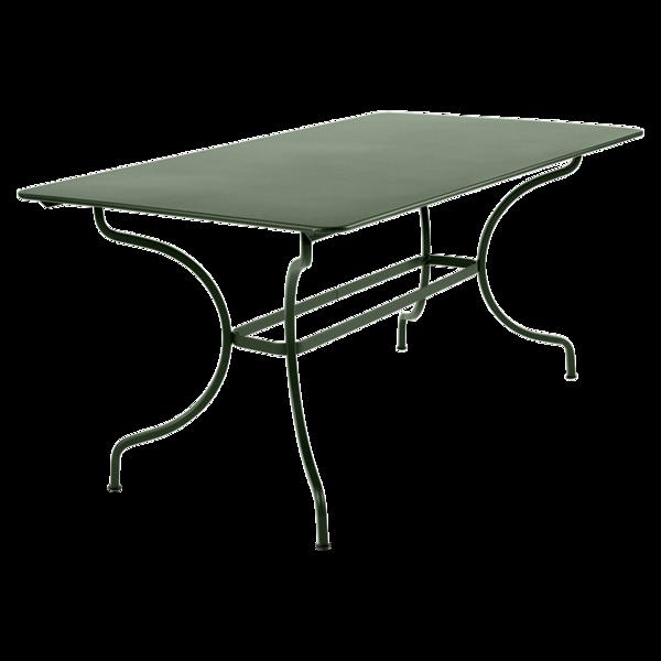 table de jardin metal