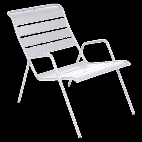 fauteuil de jardin, fauteuil metal, fauteuil blanc, fauteuil fermob