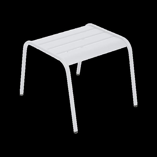 petite table basse, table basse metal, table basse blanche
