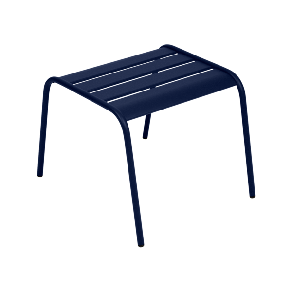 petite table basse, table basse metal, table basse bleu
