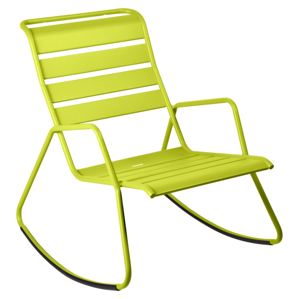 rocking chair metal, rocking chair fermob, rocking chair jardin, rocking chair vert