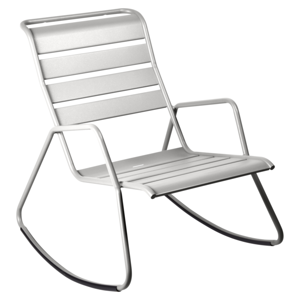 rocking chair metal, rocking chair fermob, rocking chair jardin, rocking chair gris