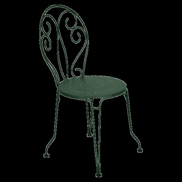 Chaise Montmartre, chaise en métal, mobilier de jardin