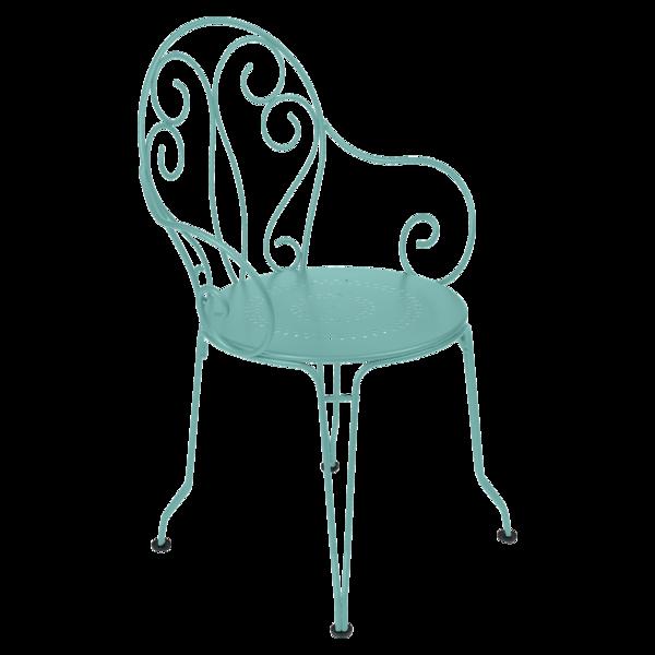 Sessel Montmartre, Gartenstühle aus Metall, Gartenmöbel