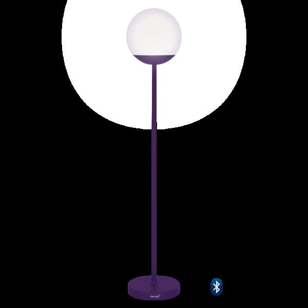 lampe fermob, lampadaire, lampe outdoor, lampe d exterieur, lampe violette