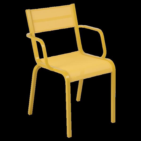 chaise de jardin en toile, chaise terrasse toile, chaise fermob, chaise de jardin jaune