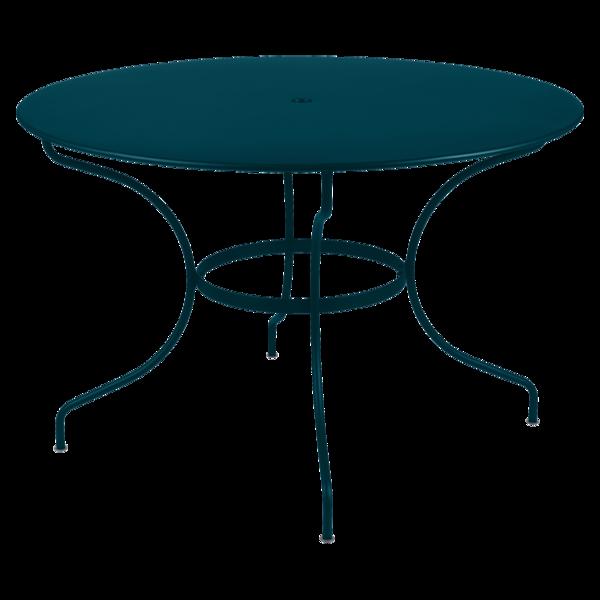 Table Ø 117 cm opéra bleu acapulco