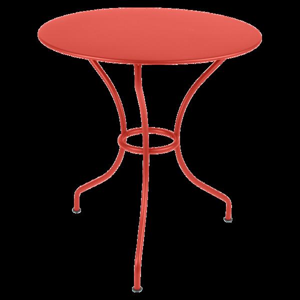 Table ronde 67 cm Opéra, table de jardin metal