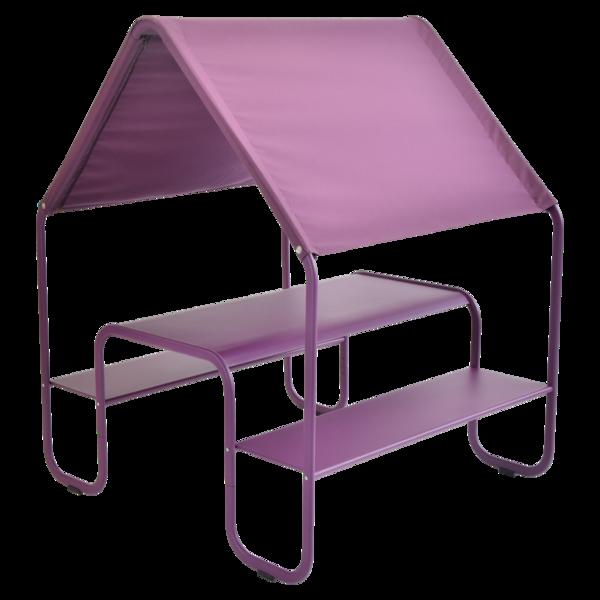 cabane enfant, table de jardin pour enfant