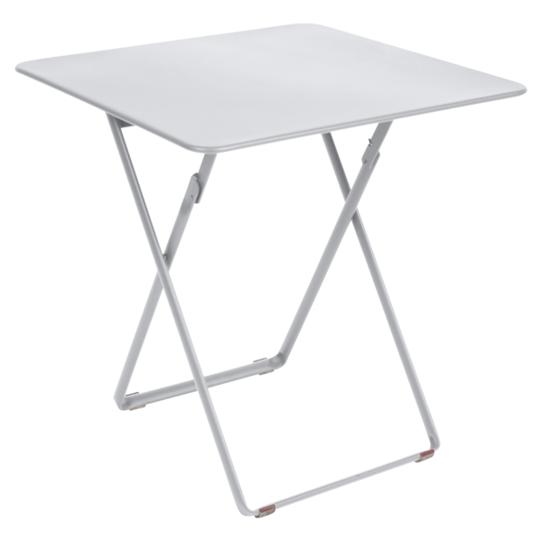 table de jardin, table metal, table pliante metal, table pliante blanche