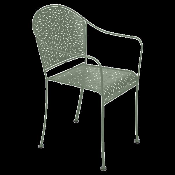 fauteuil de jardin en métal