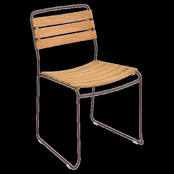 chaise surprising, chaise fermob, chaise bois et metal, chaise de jardin, chaise design, guggenbichler