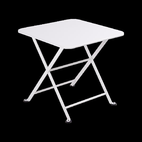table basse metal, table enfant metal, table de jardin pour enfant, table basse blanche