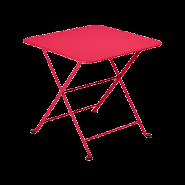 table basse metal, table enfant metal, table de jardin pour enfant, table basse rose