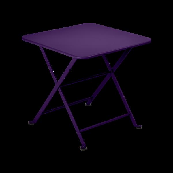 table basse metal, table enfant metal, table de jardin pour enfant, table basse violet