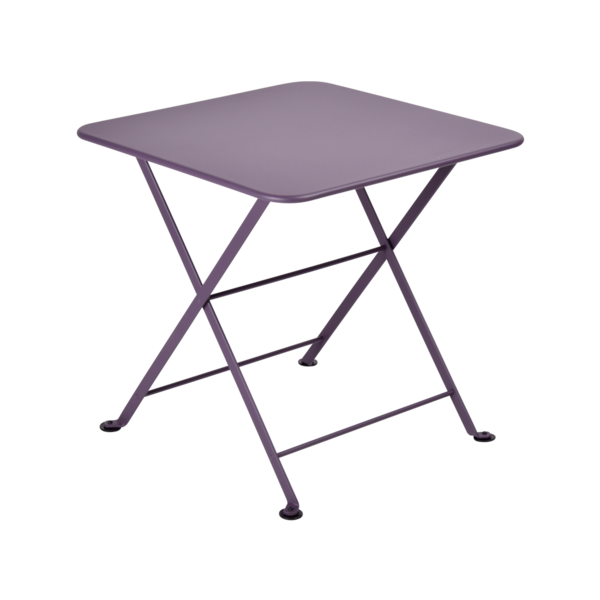 table basse metal, table enfant metal, table de jardin pour enfant, table basse violet