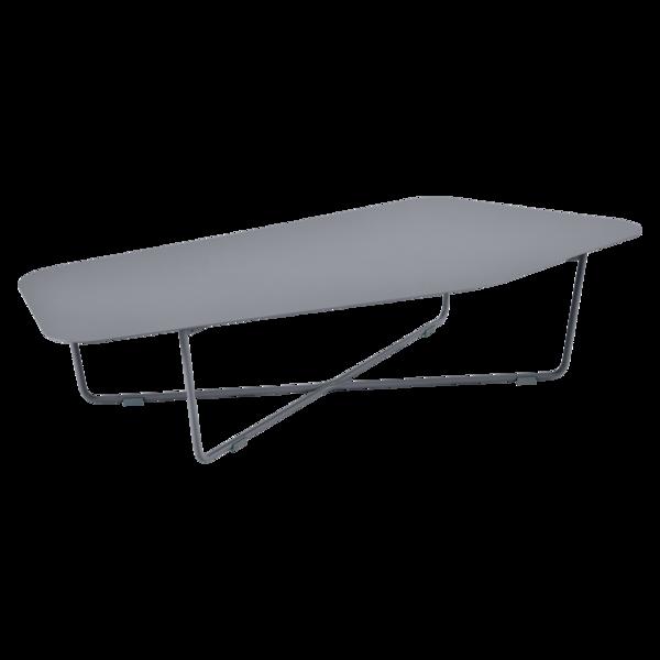 Niedriger Tisch Ultrasofa, Gartentisch aus Metall, Gartenmöbel
