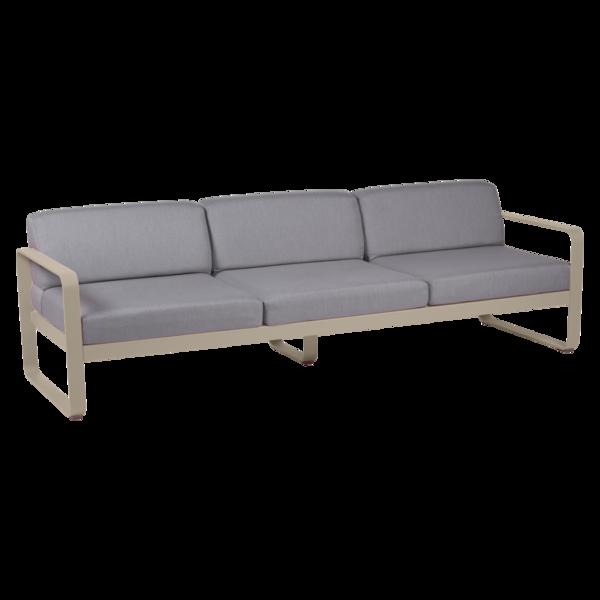 canape de jardin, canape d exterieur, canape fermob, canape metal, canape beige