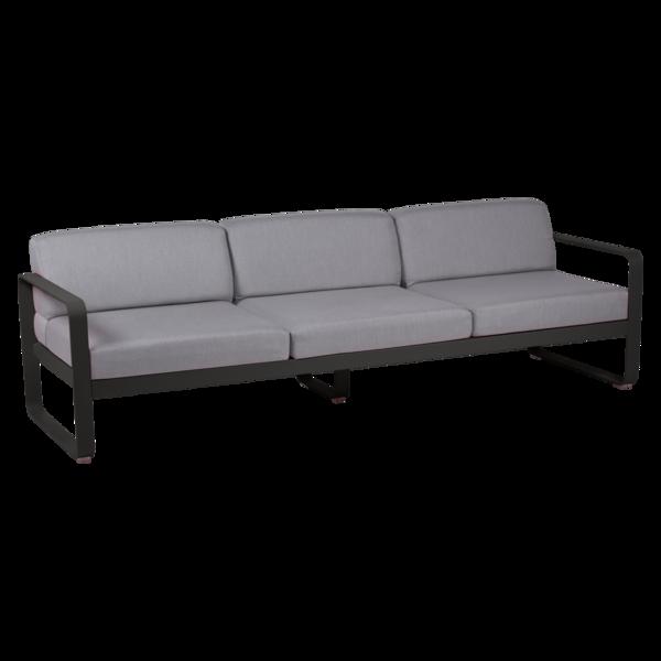 canape de jardin, canape d exterieur, canape fermob, canape metal, canape noir