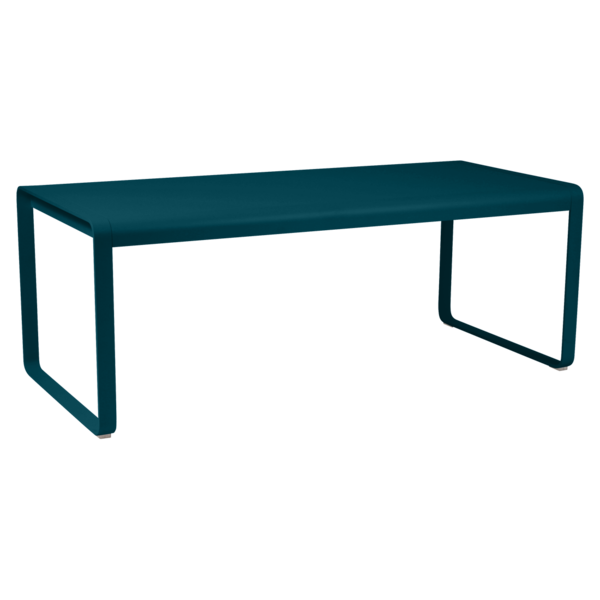 Table 196 x 90 cm bellevie bleu acapulco