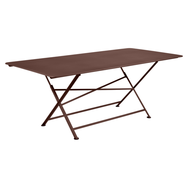 Table rectangulaire Cargo, table de jardin pliante, table ...