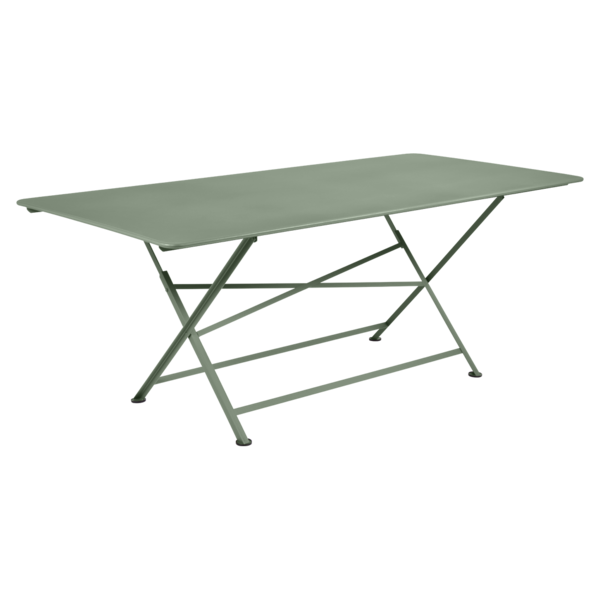 table de jardin, table metal, table de jardin pliante, table metal pliante, table fermob vert