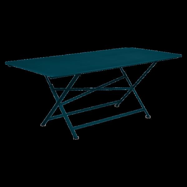 Table 190 x 90 cm cargo bleu acapulco