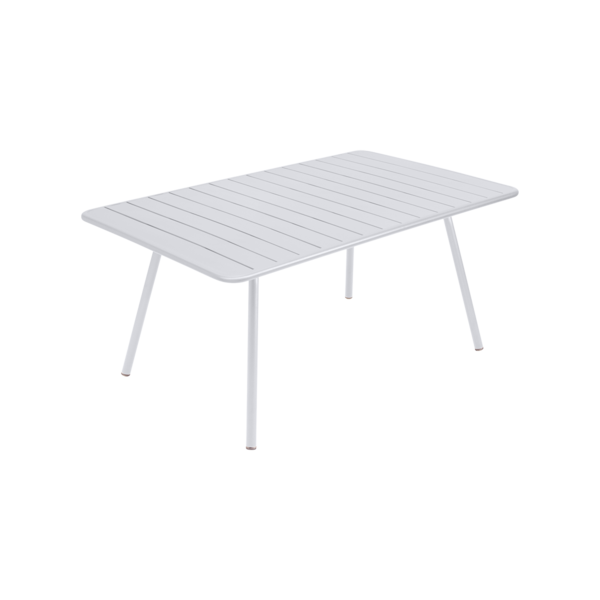 table de jardin, table metal, table fermob, table blanche