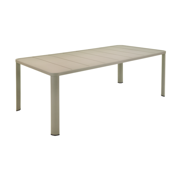 table de jardin, table 8 personnes, table 10 personnes, table metal, table aluminium