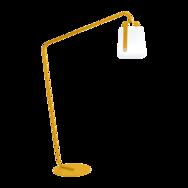 pied de lampe Balad jaune, pied balad, pied lampe fermob, pied lampe balad