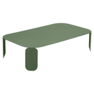 table basse design, table basse metal, table basse fermob, table basse verte