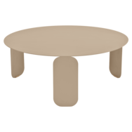 table basse metal, table basse design, table basse fermob, table basse beige