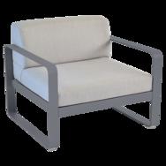 fauteuil de jardin avec coussins