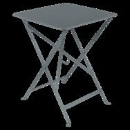 Table Bistro 57x57 cm, table de jardin, table pliante jardin